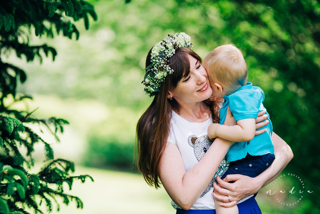 Mother's Day Flower Crown Mini Session.